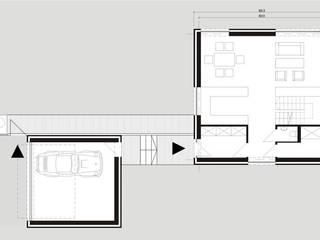 Osiedle Srebrne Stawy w Bytomiu - dom typ A od j.krysiak Nowoczesny