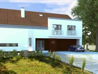 Nowoczesny Dom Energooszczędny od WW Studio Architektoniczne