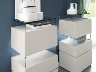 Dormitorio URBAN con inserciones de cerámica de EMEDE de EMEDE Minimalista