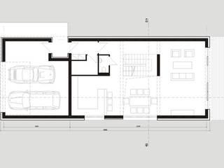 Osiedle Srebrne Stawy - dom typ B od j.krysiak Nowoczesny