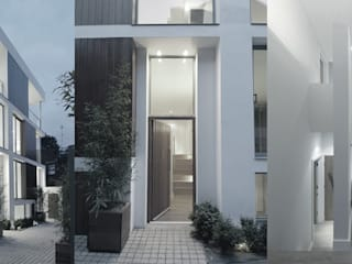 Notting Hill Townhouses: modern Houses by Clarke Renner Architects
