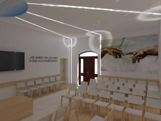 kaplica pogrzebowa w Ostródzie od ap. studio architektoniczne Aurelia Palczewska Minimalistyczny