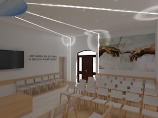 ap. studio architektoniczne Aurelia Palczewska Hospitais minimalistas