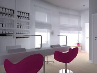 ap. studio architektoniczne Aurelia Palczewska Clínicas modernas