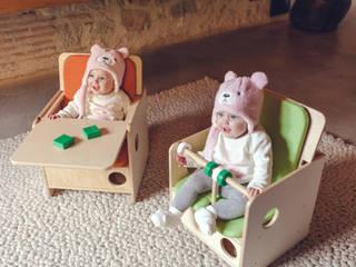 SILLA BEBÉ OSIT + BANDEJA de nuun kids design Escandinavo