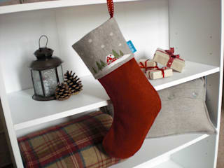 Woodland Christmas Kate Sproston Design MaisonTextiles