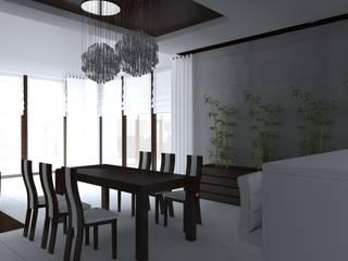 Modern dining room by ap. studio architektoniczne Aurelia Palczewska-Dreszler Modern