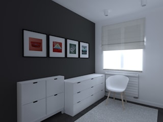 Modern dressing room by ap. studio architektoniczne Aurelia Palczewska-Dreszler Modern