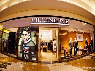 Villeneuve - Shopping Dom Pedro: Lojas e imóveis comerciais  por INOVARQ Arquitetos Associados