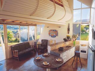 Casa Eugênia por Joao Diniz Arquitetura: Cozinhas  por JOAO DINIZ ARQUITETURA,Moderno