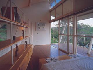 Casa Eugênia por Joao Diniz Arquitetura: Quartos  por JOAO DINIZ ARQUITETURA,Moderno