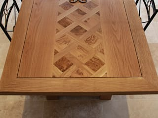 Oak Refectory Table: classic  by Mr J Designs, Classic