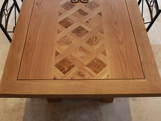 Lattice Pattern in Burr Oak:   by Mr J Designs