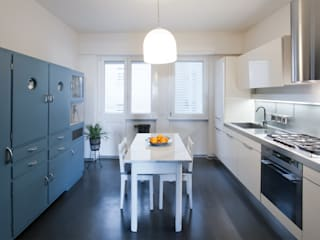 Appartamento ad Ostiense - Roma Archifacturing Cucina moderna
