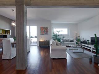 Salon moderne par Archifacturing Moderne