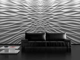 โดย Loft Design System Deutschland - Wandpaneele aus Bayern ผสมผสาน