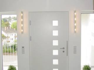 Loft Zweibrücken Moderner Flur, Diele & Treppenhaus von Bolz Licht und Wohnen 1946 Modern