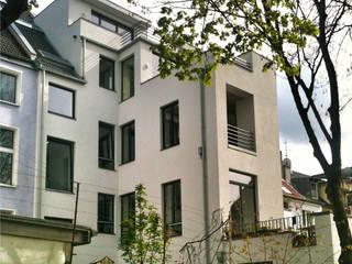 hoffassade _ nord _ nach umbau + ausbau + sanierung beissel schmidt architekten