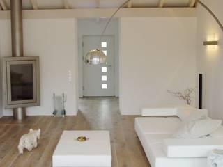Loft Zweibrücken: moderne Wohnzimmer von Bolz Planungen für Licht und Raum