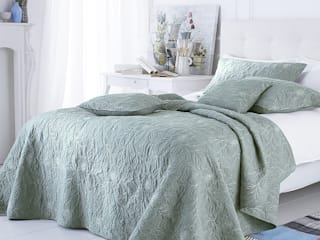 Riviera Embroidered Bedspread:   by Marquis & Dawe