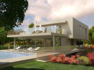 Pespectiva 3D: Casas  por Ana Viegas