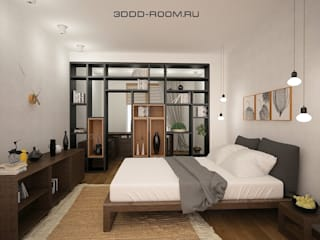Dormitorios rurales de ELENA AFONICHEVA Rural