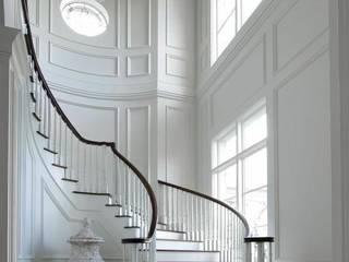 Yıldız  Ahşap merdiven ve küpeşte – lake merdiven:  tarz