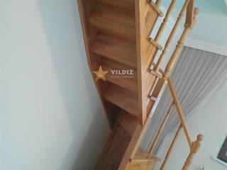 par Yıldız Ahşap merdiven ve küpeşte Rustique