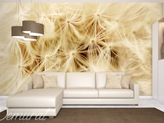 Photo wallpapers in living room: modern  by Demural, Modern
