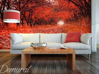 Photo wallpapers in living room de Demural Moderno