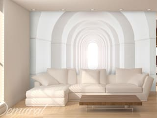 Endless tunnel:  Living room by Demural