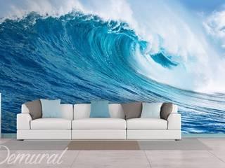 Sea wave Demural Oturma OdasıAksesuarlar & Dekorasyon