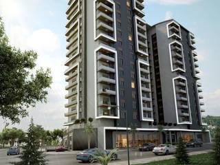 UYSAL RESIDENCE Modern Evler Çağrı Aytaş İç Mimarlık İnşaat Modern