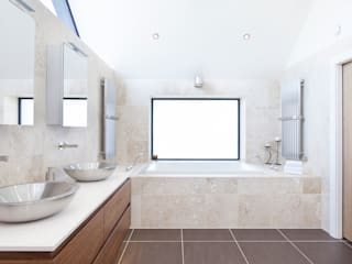 Townfoot : modern Bathroom by GLM Ltd.