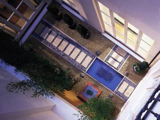 Lowndes Square Balcones y terrazas clásicos de KSR Architects Clásico