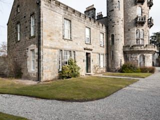 A-Listed Castle & Chapel : classic Houses by GLM Ltd.