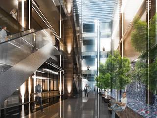 Торговые центры в стиле модерн от Ayaz Ergin İç Mimarlık Модерн