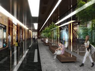 모던 스타일 쇼핑 센터 by Ayaz Ergin İç Mimarlık 모던