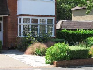 Contemporary Front Garden Fenton Roberts Garden Design Taman Modern