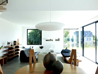 Ethel Standard Lampshade: minimalist  by One Foot Taller, Minimalist