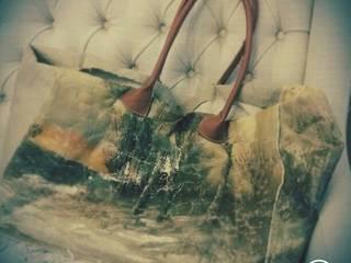Van oud schilderij naar hippe tas van gustaviaans vintage homestyle Eclectisch