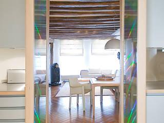 Коридор, прихожая и лестница в модерн стиле от Atelier TO-AU Модерн