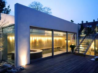 Holford Road 1 Piscinas de estilo moderno de KSR Architects Moderno