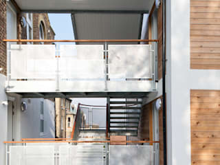 Gipsy Hill Casas de estilo industrial de Granit Architects Industrial