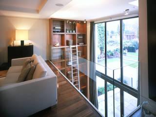 Thurlow Road 1 Livings de estilo moderno de KSR Architects Moderno