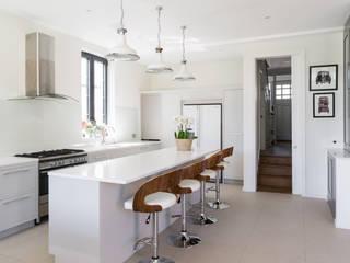 Broadgates Road Nowoczesna kuchnia od Granit Architects Nowoczesny
