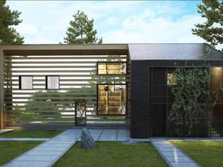 алкохаус Дома в стиле минимализм от Архитектурное бюро и дизайн студия 'Линия 8' Минимализм