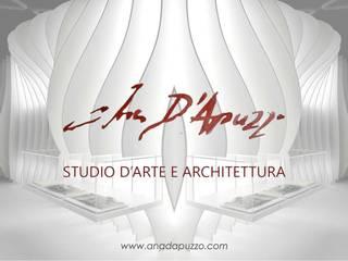 Butique Interior Design: Negozi & Locali commerciali in stile  di Studio d'arte e architettura Ana D'Apuzzo