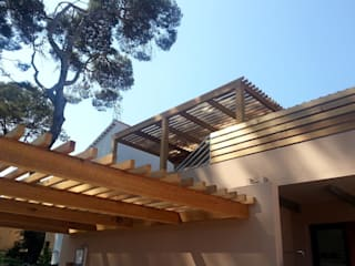 Casas modernas por Atelier TO-AU Moderno