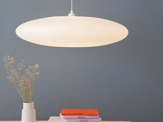 Ethel Inverse Lampshade: minimalist  by One Foot Taller, Minimalist